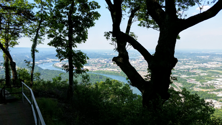 Chattanooga View from Lookout Mtn.